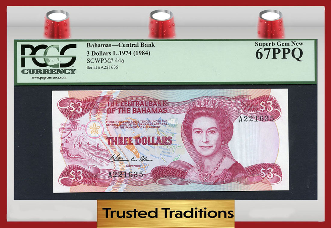 Bahamas - Currency for sale on Collectors Corner