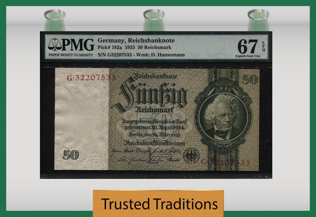 GERMANY DEMOCRATIC 5 MARK 1948 P 11 UNC