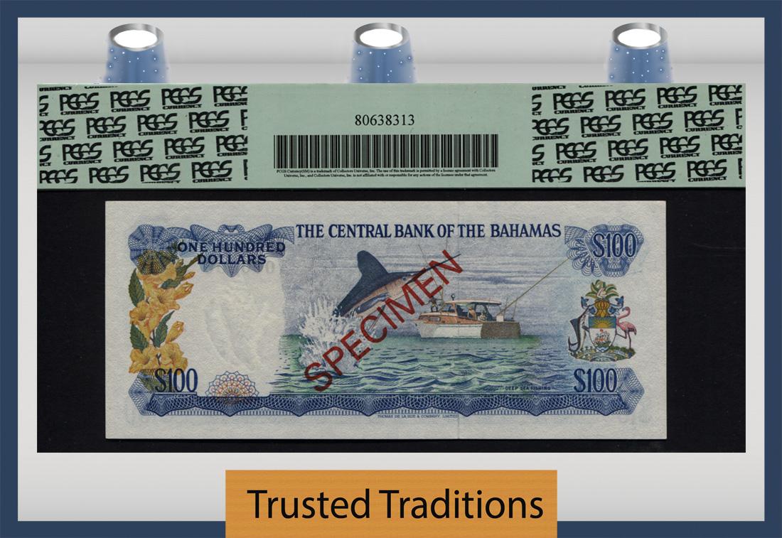TT PK 0041as 1974 BAHAMAS $100